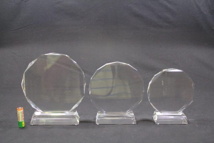 Custom Designed Crystal Glass Trophies