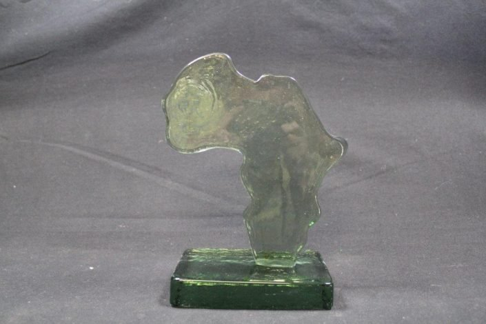 Custom Designed Recycled Glass Trophies